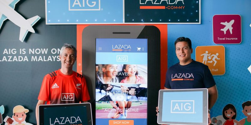 Aig Insurance Offer From Rm8 On Lazada Platform Cyber Rt