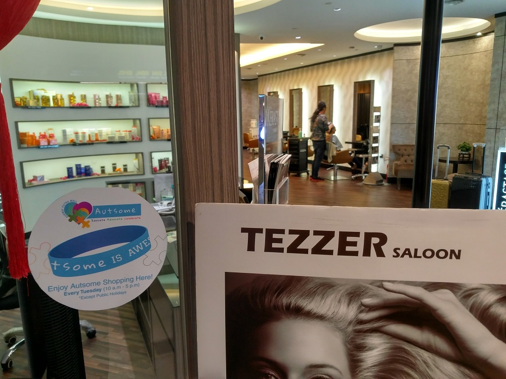 20% off all services at Tezzer Saloon Sunway Putra Mall on Tuesdays by flashing Autsome band
