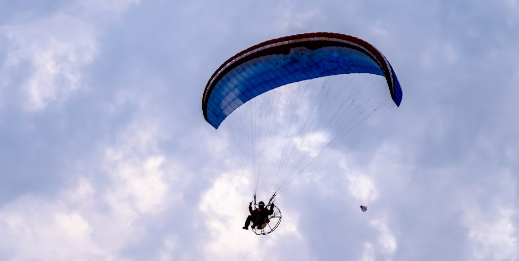 Paramotor crash victims tried to hide cause of injuries