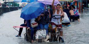 Flooding in Manila